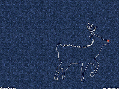 Rudolph's Blue Christmas wallpapers