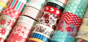 365 - February 20, 2017: Washi tape masking tape