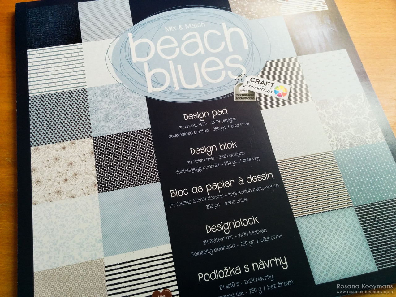 365 - March 30, 2017: Beach Paper scrapbooking cardstock Action