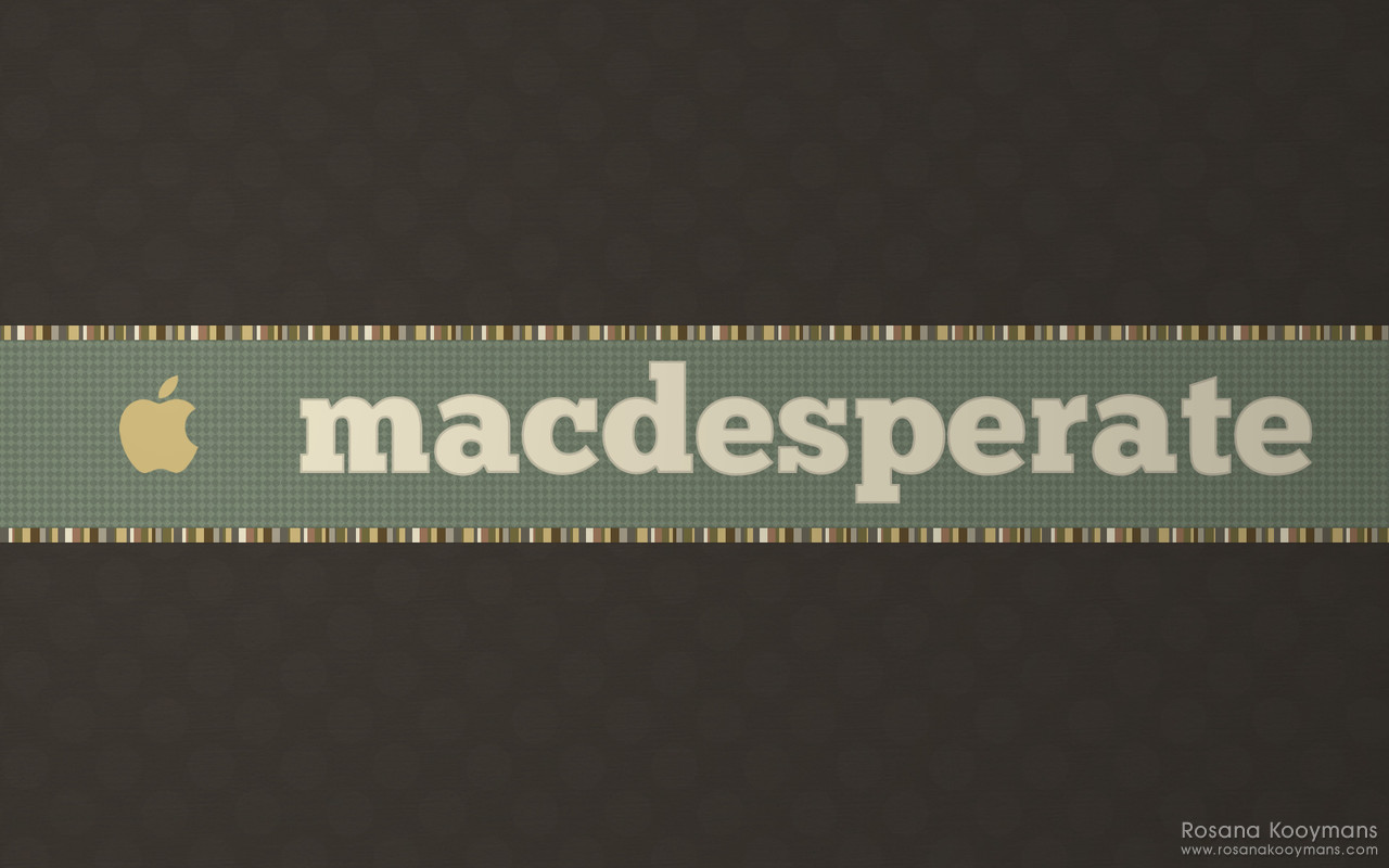 MacDesperate - Winter 2010 Wallpapers: Dark Brown
